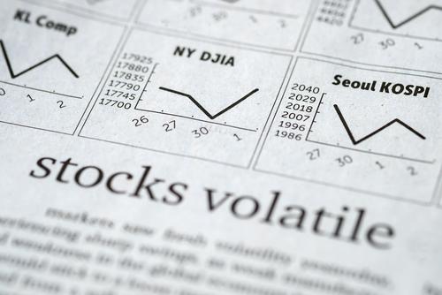Immagine con volatilità nei vari mercati