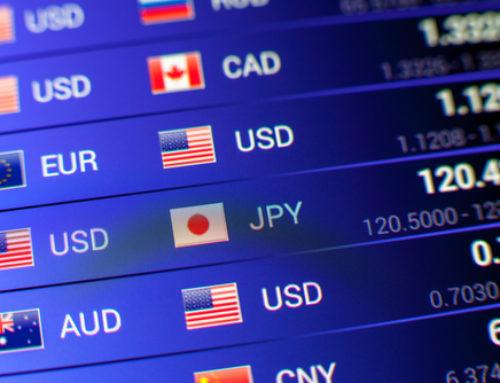 Escenario del dólar, euro, libra y yen