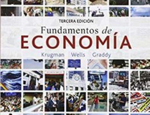 Libro: Fundamentos de economía