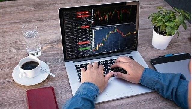 Foto haciendo trading